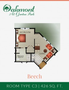 Beech - Assisted Living One Bedroom