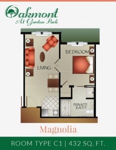 Magnolia - Assisted Living Suite