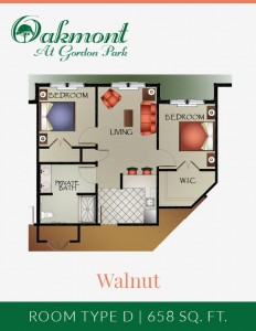 Walnut - Assisted Living 2BR/1BA